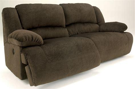 2 seat reclining sofa toletta chocolate 2 seat reclining sofa from ashley
