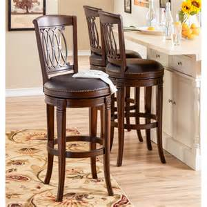 Kitchen swivel counter stools are made for company while you cook