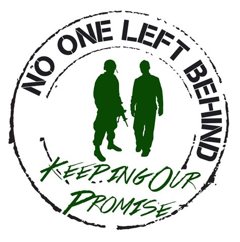 no one left to no one left behind blog page