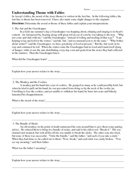 theme quiz 8th grade 6th grade worksheets on theme second grade sentences