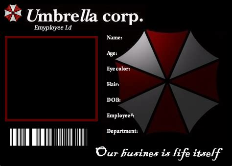 Umbrella Template For Card by Umbrella Id Template By Weskerkitty On Deviantart