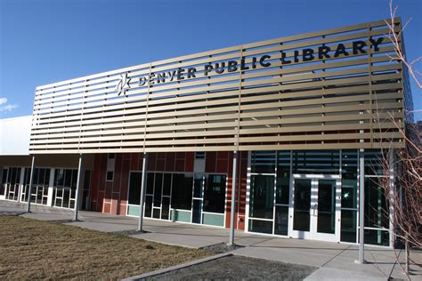 building style denver public library s green valley ranch branch receives
