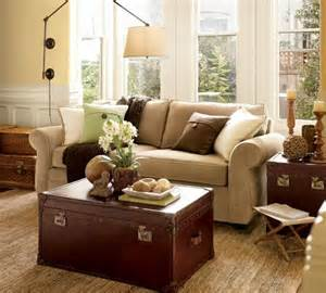 Pottery Barn Living Room by Modernizing And Eclecticizing A Pottery Barn Living Room