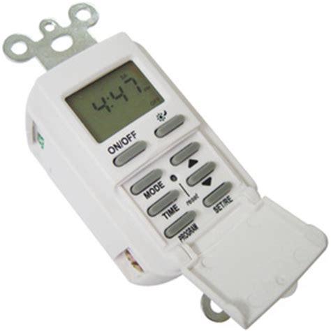 light timer shop utilitech 15 digital residential hardwired