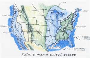 the future map of america end of the world 2012 spirituality is no excuse