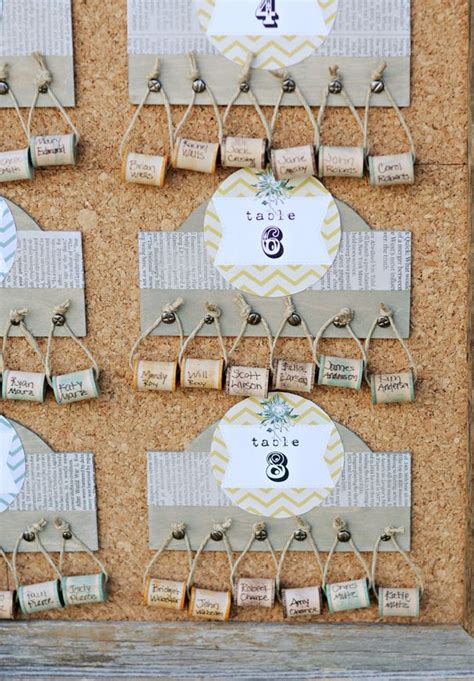 seating chart ideas inspiration fun  diy wedding