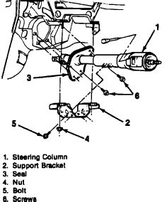 do i have to remove the entire steering column to replace the ignition lock cylinder on a 1993 how do i remove steering column from a 1990 chevy suburban
