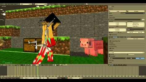 minecraft animation creator homeminecraft blender tutorial minecraft animations youtube