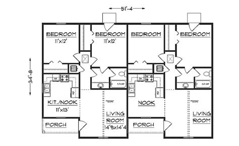 Free Duplex House Plans Duplex Plans Studio Design Gallery Best Design