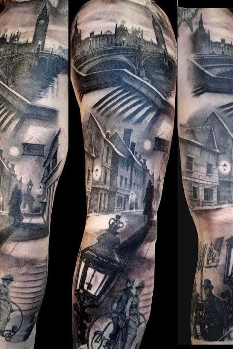 london tattoo designs awesome scenery sleeve the of ink
