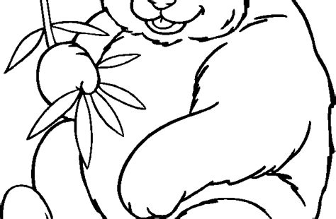 free panda bear coloring pages for kids cooloring com