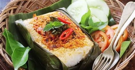 resep membuat nasi bakar sumsum resep nasi bakar ikan teri kemangi holiday