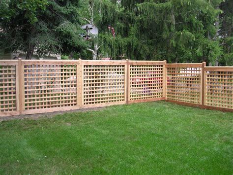 Design For Lattice Fence Ideas Fence Lattice Designs Images