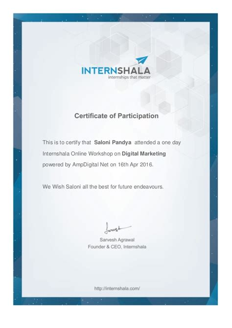 Digital Marketing Certificate Programs 5 by Digital Marketing Workshop Certificate 4