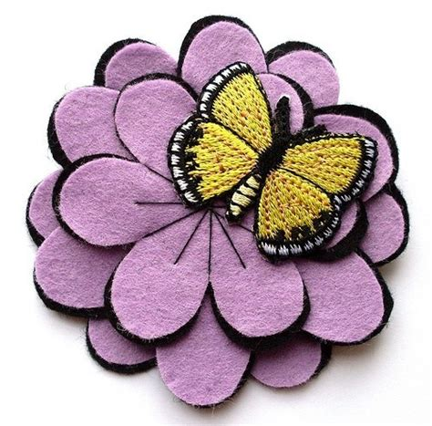 Lupin Handmade - 363 best felt images on jewelry felt brooch