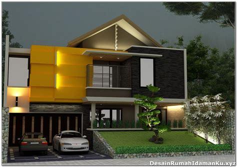 contoh gambar rumah tingkat sederhana desain rumah minimalis gambar foto wallpaper