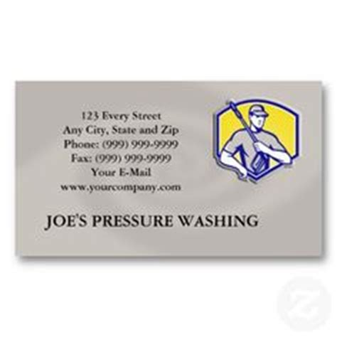 pressure washing business card templates 1000 images about pressure washing business cards on