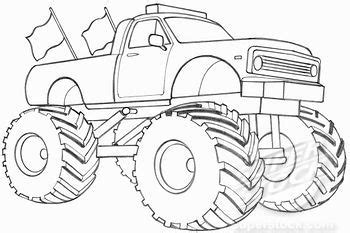 cool monster truck drawings pictures inspirational pictures