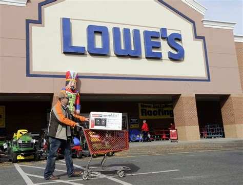 lowe s follows home depot with strong fourth quarter