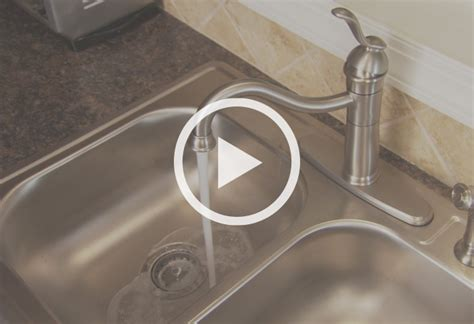 how to replace a single handle kitchen faucet how to install a single handle kitchen faucet at the home