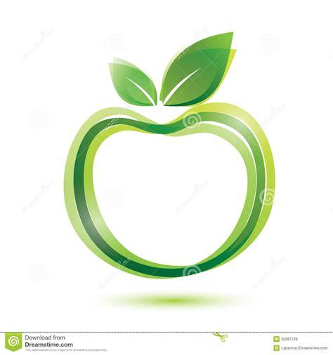 apple logo biography green apple logo like icon stock vector image of nature