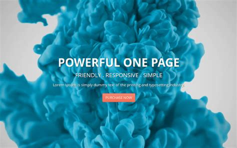 one page template html deusone responsive one page template business