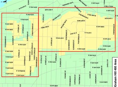 seattle utility map shuts water in much of south seattle seattlepi