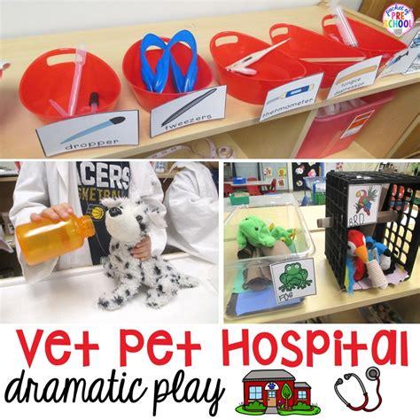 veterinary printables and pretend play
