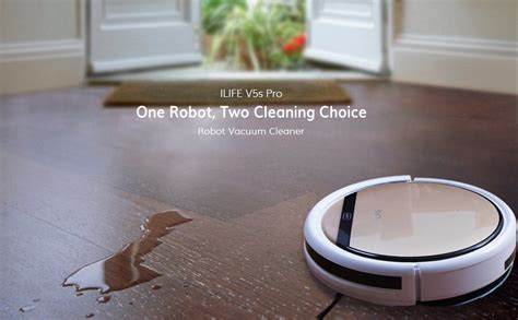 Amazon.com: ILIFE V5s Pro Robot Vacuum Mop Cleaner with