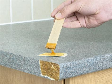 how to patch the edge of a laminate countertop how tos diy