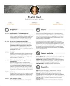48 simple marketing resumes free premium templates