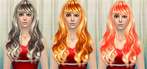 sims 2 hair 2014 cazy s sorrow hairstyle recolors darkiie sims 4