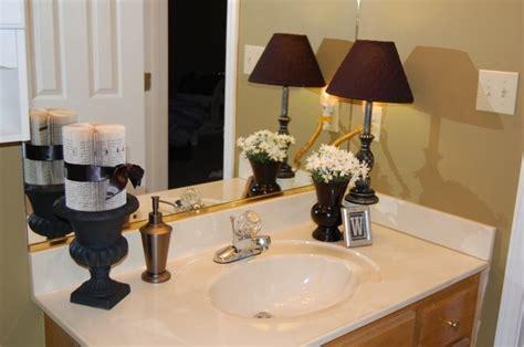 bathroom counter decor for the home pinterest