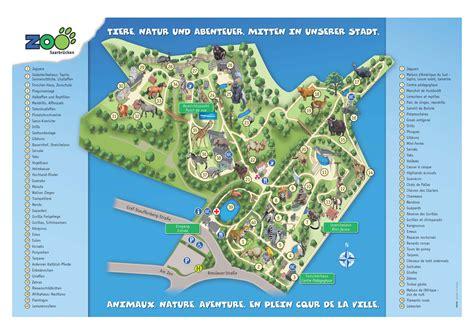 Zoologischer Garten Karte by Plan Du Zoo Zoologischer Garten