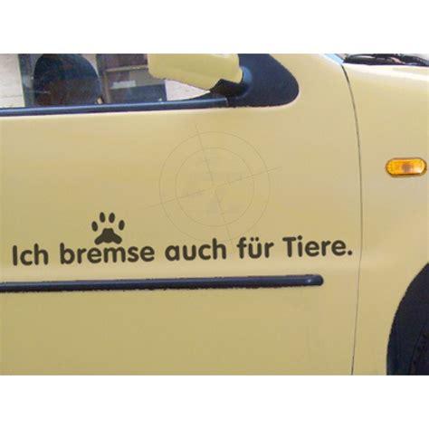 Aufkleber F Rs Auto Tiere by Aufkleber Quot Ich Bremse Auch F 252 R Hunde Quot