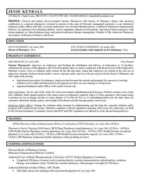 resume template for pharmacist hospital pharmacy technician resume hospital pharmacy