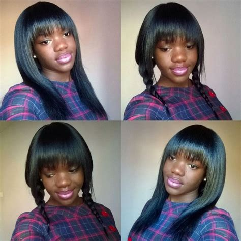 how to do sew ins with bangs 91 best images about sew ins and updos on pinterest lace