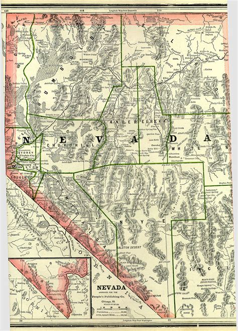 unr map nevada maps nevada digital map library table of contents united states digital map library