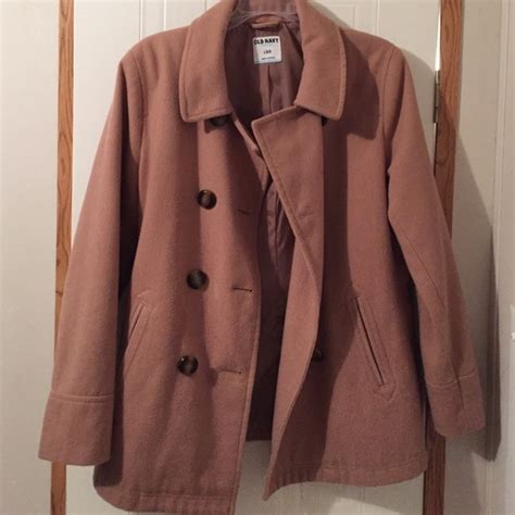 camel colored peacoat 38 navy jackets blazers camel colored pea