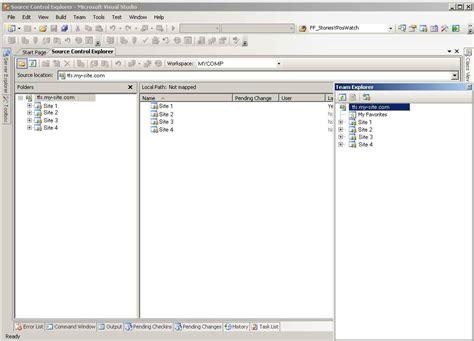 tfs tutorial video team foundation server 2008 tutorial connect to team