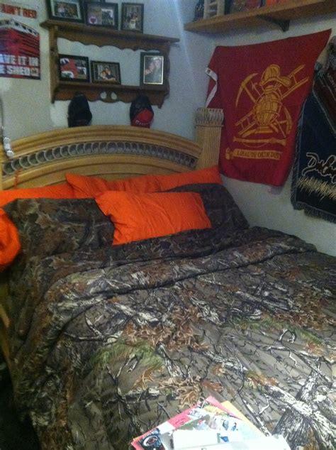 orange camo bed set cabela s camo bed set with additional hunter orange pillow