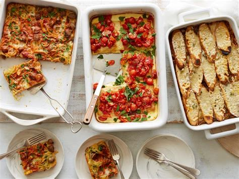 a make ahead vegetarian dinner party from ina garten ina garten comfort food casserole ideas food network classic