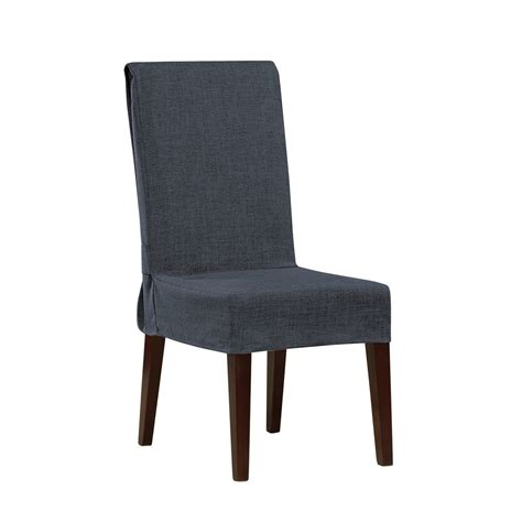 Dining Chair Slipcovers Sure Fit Shorty Dining Chair Slipcover Reviews Wayfair