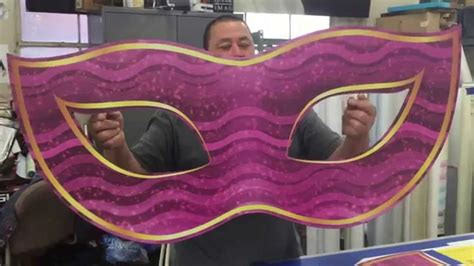 How To Make A Masquerade Mask Out Of Paper - large masquerade graphic prolab digital