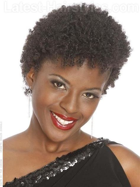 curling pixie cut on black women naturally styled pixie curls we covet pinterest