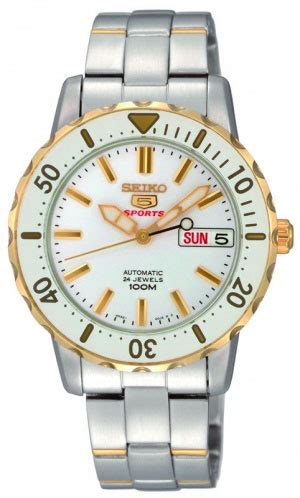 Seiko 5 Sports Srp194 seiko srp194 mens two tone stainless steel seiko 5