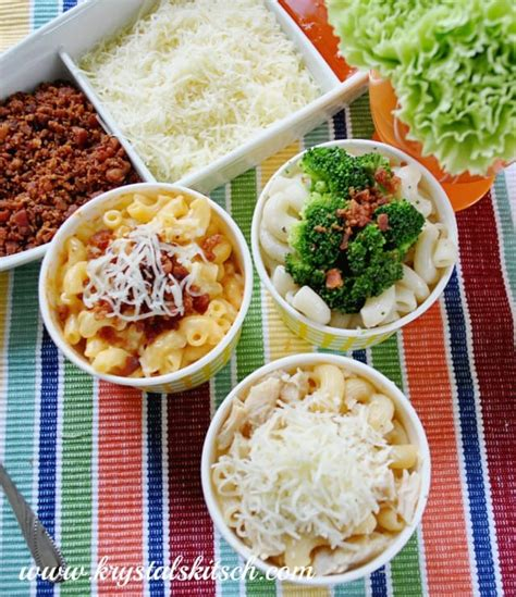 macaroni bar toppings easy mac and cheese bar recipes
