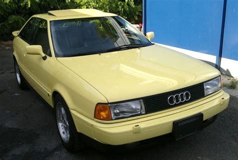 Audi Coupe 20v by 1990 Audi Coupe Quattro 20v German Cars For Sale