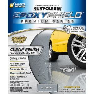rust oleum epoxyshield 90 oz clear high gloss low voc