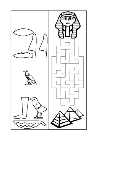 printable egyptian bookmarks close this template window when done printing